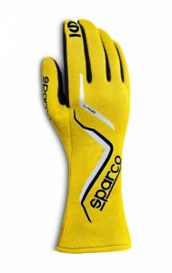 Sparco Racing Land Gloves - Yellow - Double Extra Large (11-12½ inches)