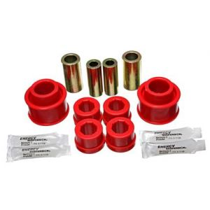 Energy Suspension Front Control Arm Bushings- Red