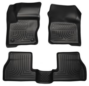 Husky Liners 2013+ Ford Focus ST (not RS) WeatherBeater Combo Black
