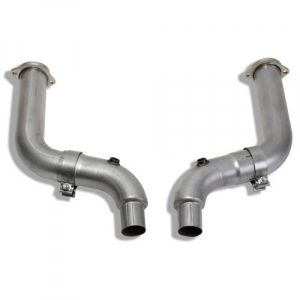 """BBK 15-17 MUSTANG GT 3"""". COMPETITION SERIES OFF-ROAD MID PIPE KIT"""