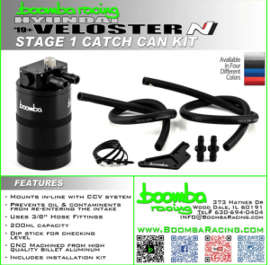 19+ Veloster N Compact Catch Can Kit (Stage 1 CCV)