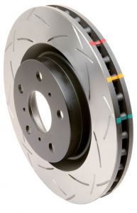 DBA Ford Focus RS Rear Slotted 4000 Series Rotor