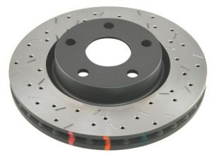 DBA Ford Focus RS Rear Drilled & Slotted 4000 Series Rotor