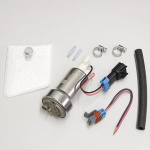 Walbro Universal 450lph In-Tank Fuel Pump E85 Version with Install Kit