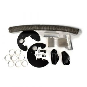 AAF Racing - Ford Focus RS Brake Cooling Kit (2016-2018 Ford Focus RS Only)