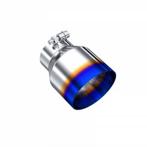 T304 Stainless Steel Burnt End Tip 3 Inch inlet 4.5 Inch OD Out 6.13 Inch Length Angle Cut MBRP