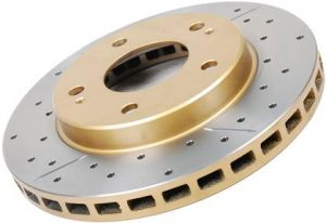 DBA Front Drilled & Slotted Street Series Rotor
