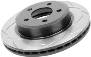 DBA Front Slotted Street Series Rotor T2