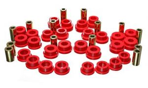 Energy Suspension Front Control Arm Bushings Set - Red