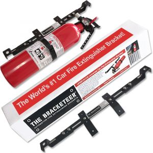 The Bracketeer  Car Fire Extinguisher Bracket - for Element Series Fire Extinguishers